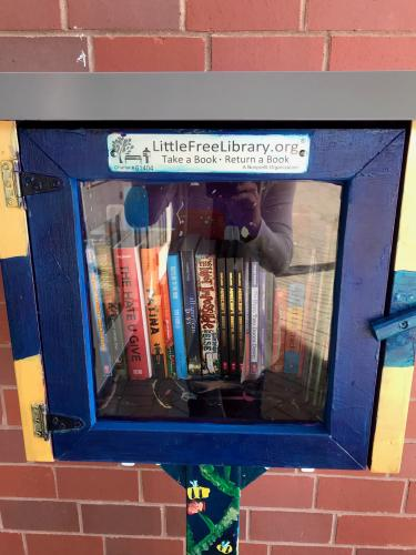 Linden STEAM Academy's Little Free Library